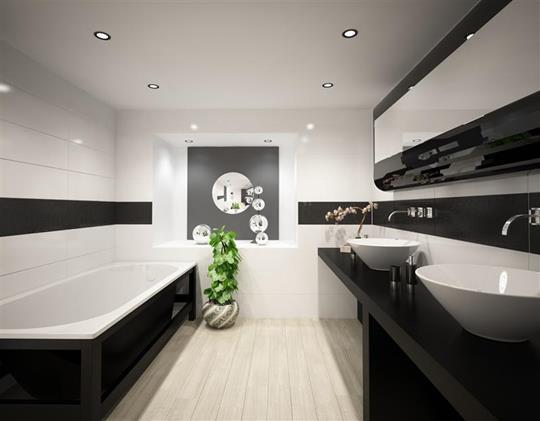 фото красной ванной комнаты | Дизайн