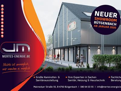 Neuer Showroom ab 2020 - Sanitär